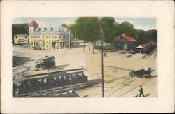 The Meeting Place Mattapan Station Postcard