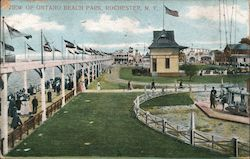 View of Ontano Beach Park Postcard