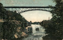 Lower Fall of Genesee River, showing Driving Park Avenue Bridge