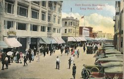 East Seaside Boulevard Postcard