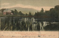 The Windermere and Loch Marion, Churchill Park, Catskill Mountains Postcard