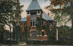 Sturges Hall, Oberlin College Postcard