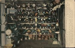 Display of Confiscated Weights and Measures at State Dept.'s 1912 Inter-state Fair in Trenton, NJ Postcard