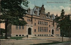 Middletown High School Postcard