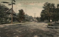 Fairfield Ave. from Norman St. Postcard