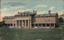 New Dormitory Building, Agricultural and Mechanical Arts University Postcard