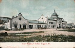 Union Passenger Station Postcard