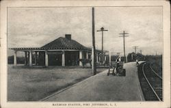Railroad Station, Port Jefferson, Long Island