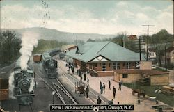 New Lackawanna Station Postcard