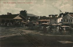 Rail Road Station, Cairo-in-the-Catskills Postcard