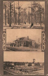 Winter or Permanent Homes - New England and Southern Improvement Co. Postcard