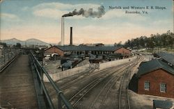 Norfolk and Western Rail Road Shops