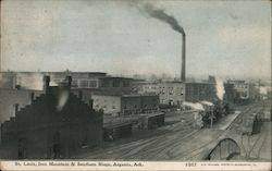 St. Louis, Iron Mountain & Southern Shops, Argenta