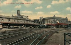 Union Station from Bridge Postcard