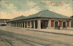 Southern Pacific Depot, First and Broadway Street