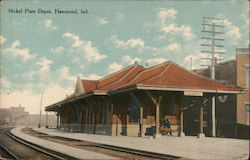 Nickel Plate Depot Postcard