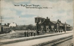 New Big Four Depot Postcard