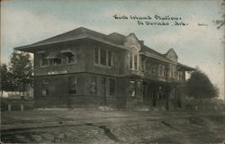 Rock Island Station Postcard