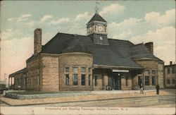 Philadelphia and Reading Passenger Station Postcard