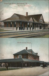 Big Four Railroad Depot and Illinois Central Depot