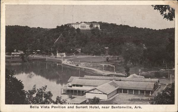 Bella Vista Pavilion and Sunset Hotel Bentonville Arkansas