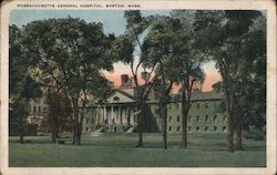 Massachusetts General Hospital Postcard