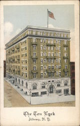The Ten Eyck Hotel Postcard