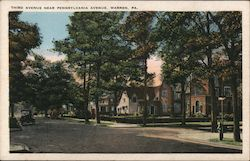 Third Avenue Near Pennsylvania Avenue Postcard