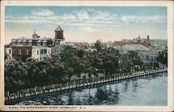Along the Shrewsbury River Postcard
