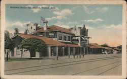 Southern Pacific Railway Station Postcard
