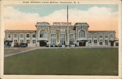 Great Northern Union Station Postcard