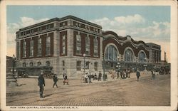 New York Central Station Postcard