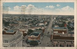 View from Scanlon Building, Looking East Postcard