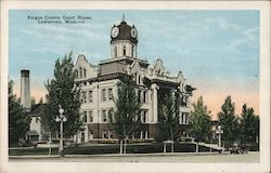 Fergus County Court House Postcard