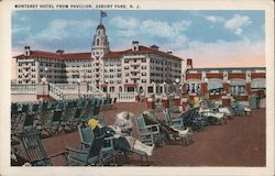 Monterey Hotel from Pavilion Postcard