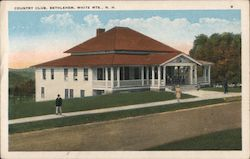 Country Club, White Mts. Postcard