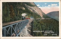 Willey Brook Bridge, White Mountains Postcard
