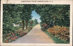 Greetings from Greenlawn, L.I.