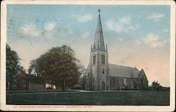 St. Barnabas Memorial Church Postcard