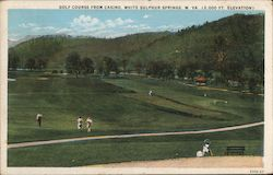 Golf Course from Casino Postcard