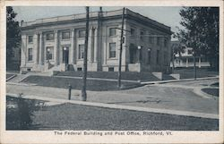 The Federal Building and Post Office Postcard