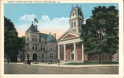 Court House and Post Office Postcard
