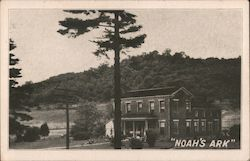 Noah's Ark - A Home for Tourists Postcard