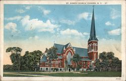 St. Agnes Church Postcard