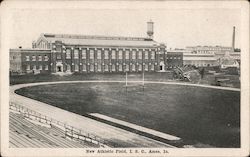 New Athletic Field, Iowa State College Postcard