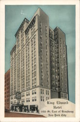 King Edward Hotel Postcard