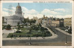 Fraternity Square Postcard