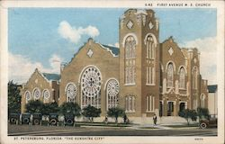 First Avenue M.E. Church Postcard