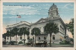 Duval County Court House Postcard
