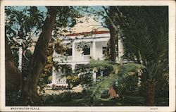 Washington Place, Governor's Mansion - Former Home of Queen Lili'uokalani